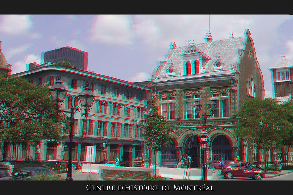 Old Montreal area