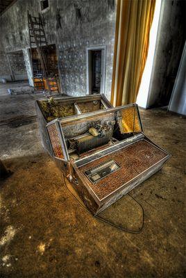 old musik box