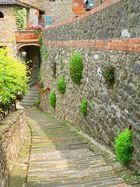 Old stone way in Bettona