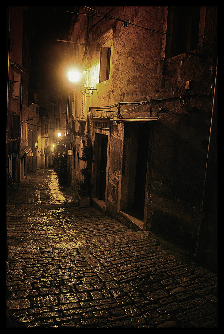 Old Street in Croatia