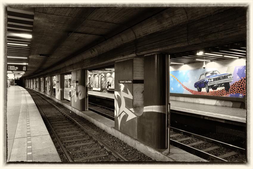 """""""Old-Style""""!Graffiti trifft Beton im Untergrund"""