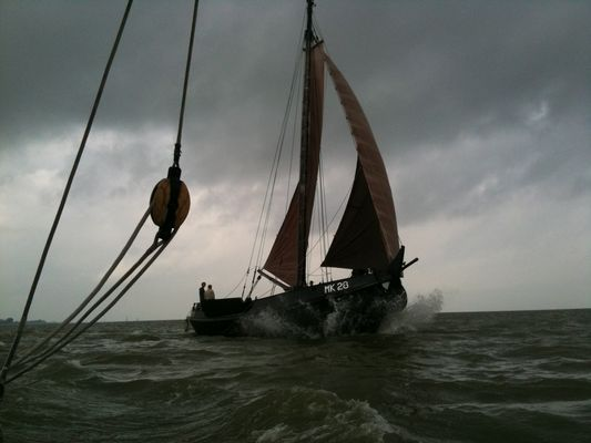 Old times sailing