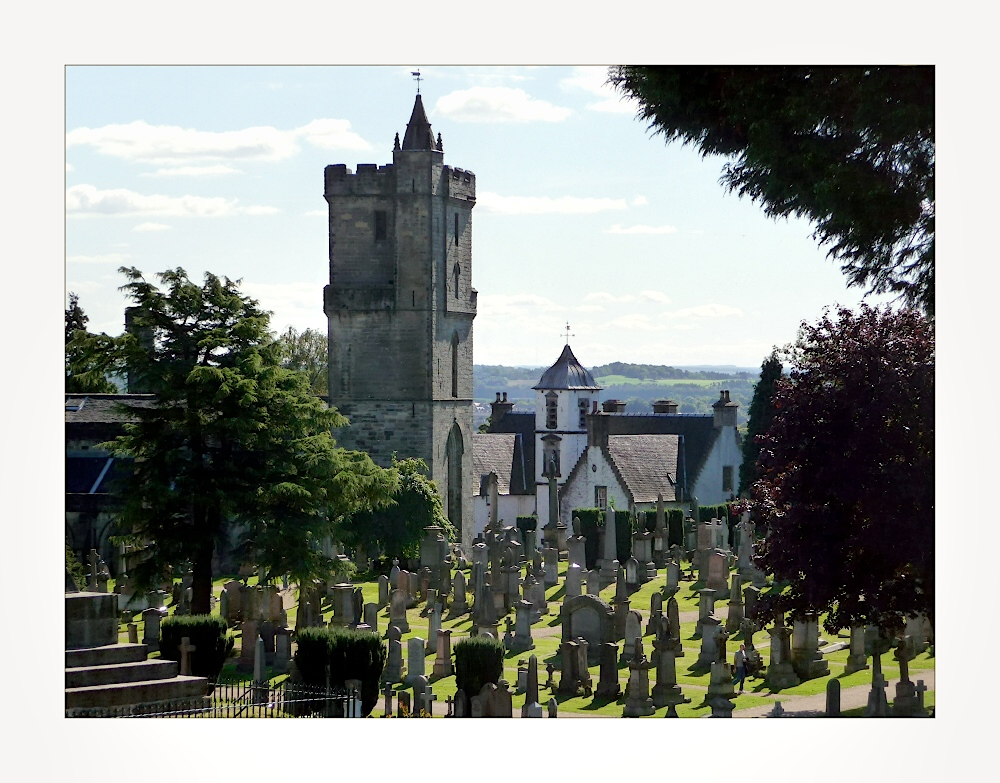 Old Town (Valley) Cemetery and Church of the Holy Rude, Stirling