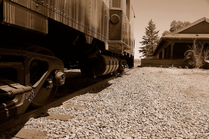 Old train station in Napa