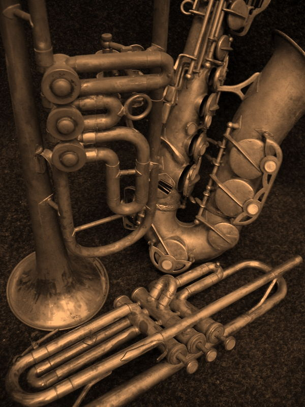 old trumpets