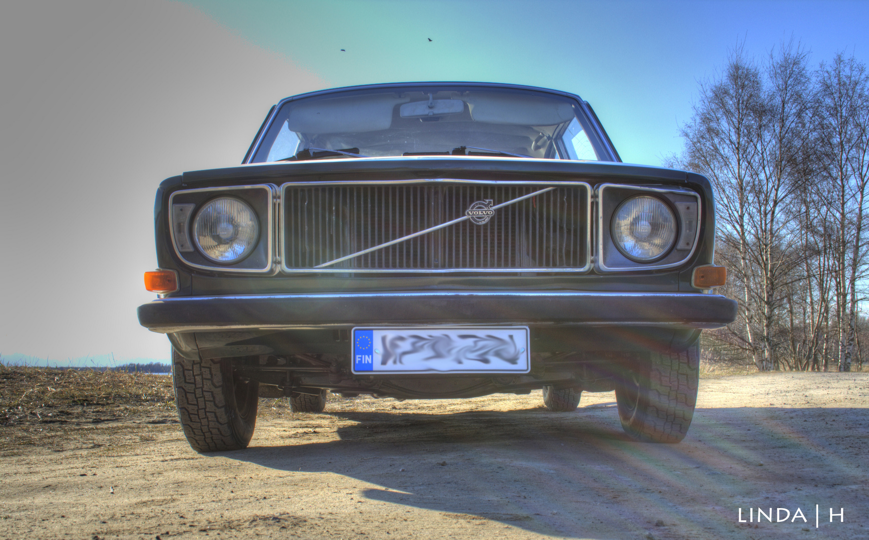 Old Volvo.