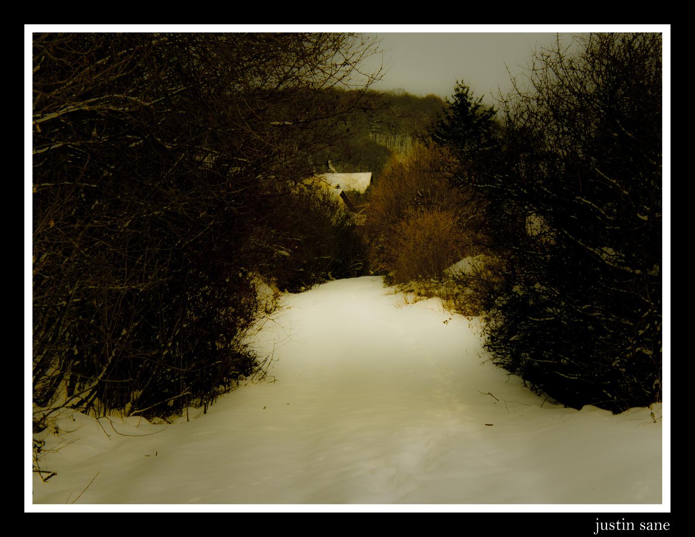 Old winter ways.