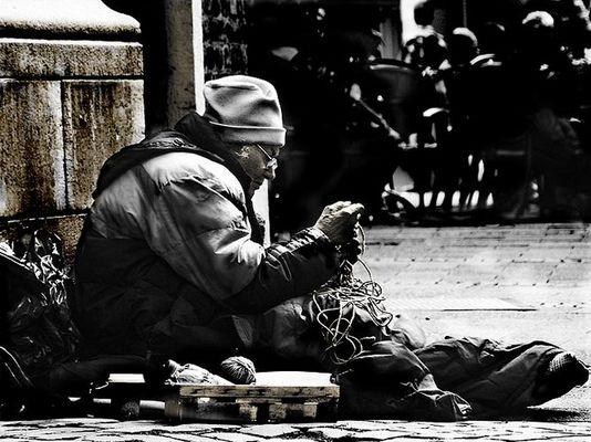 Old Woman Beggar