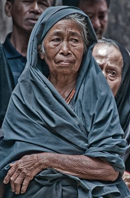 Old woman, Rantepao