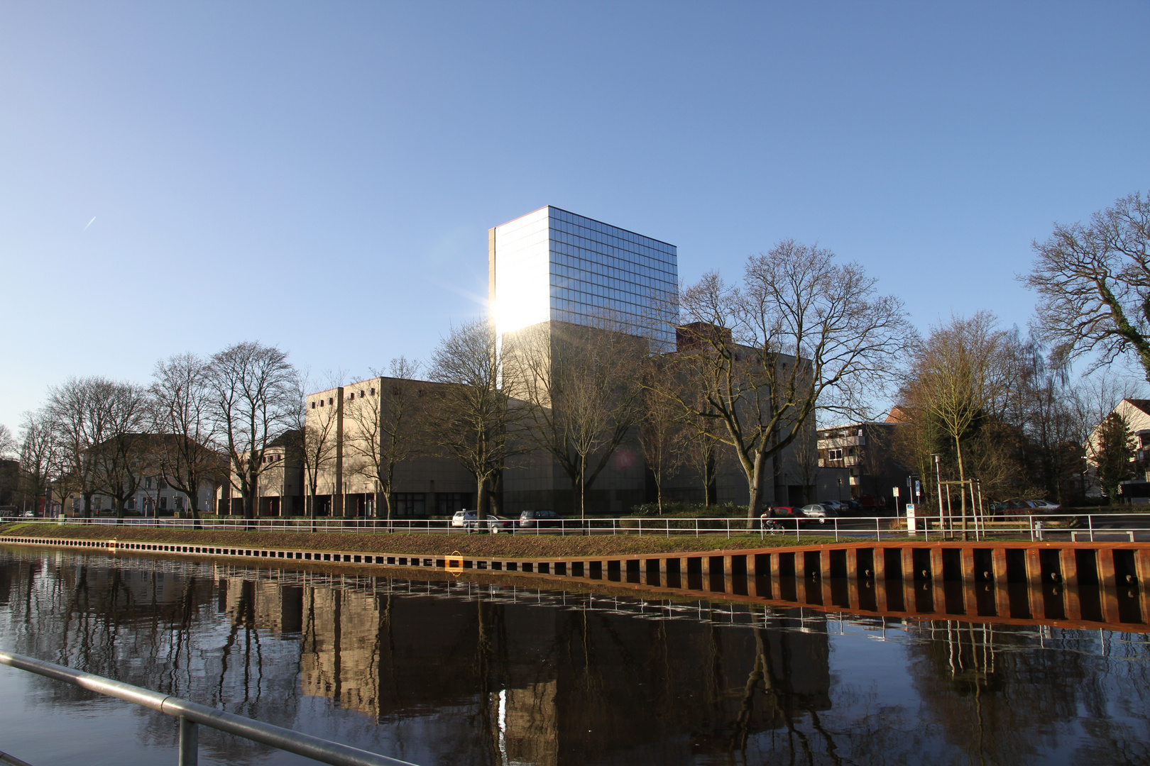 Oldenburg Kanalstrasse am 28.12.2009