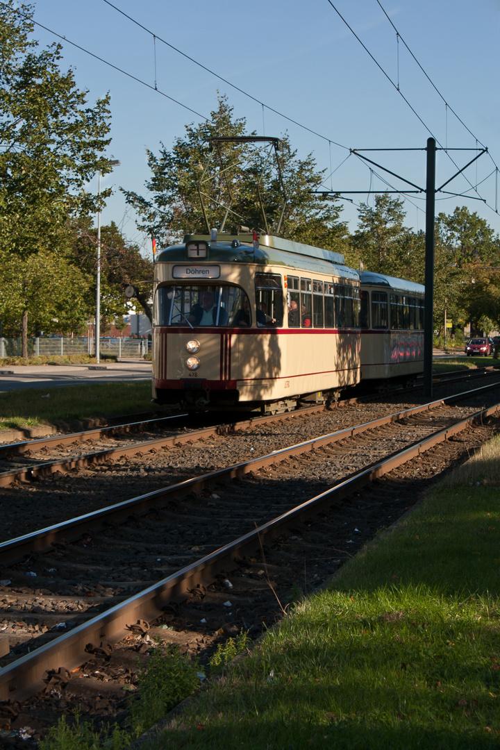 Oldie-Straßenbahn