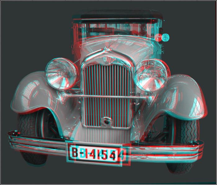 Oldtimer - 3D