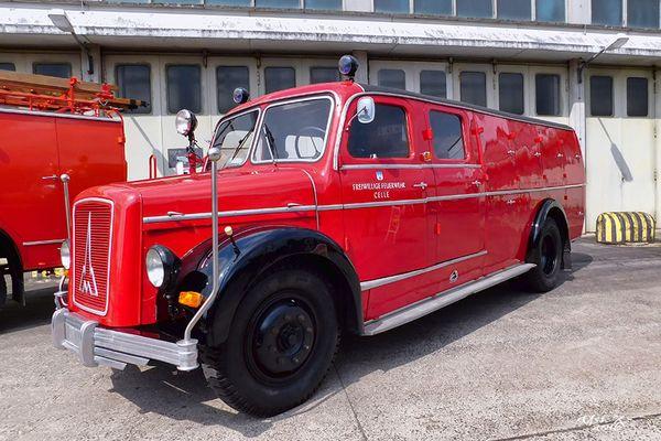 Oldtimer Feuerwehr - TLF 15 Magirus