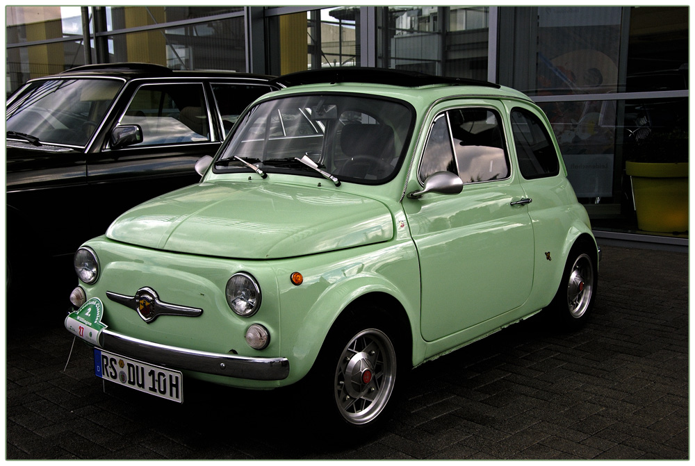 oldtimer fiat 500 foto bild technik bilder auf. Black Bedroom Furniture Sets. Home Design Ideas