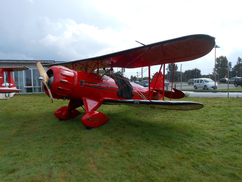 Oldtimer-Flugzeug-Schau in Mönchengladbach