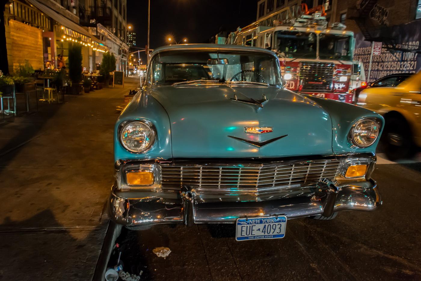 Oldtimer in New York