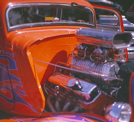 Oldtimer Motor