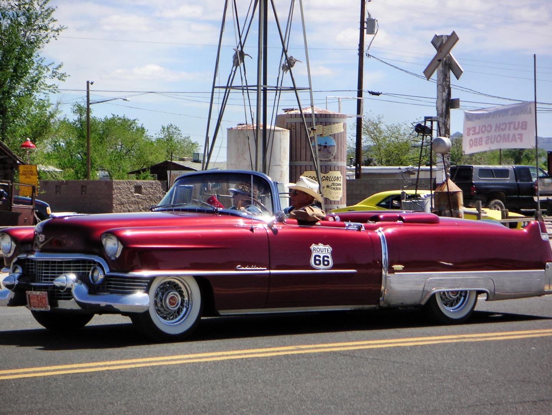 Oldtimer- Rallye auf der Route 66