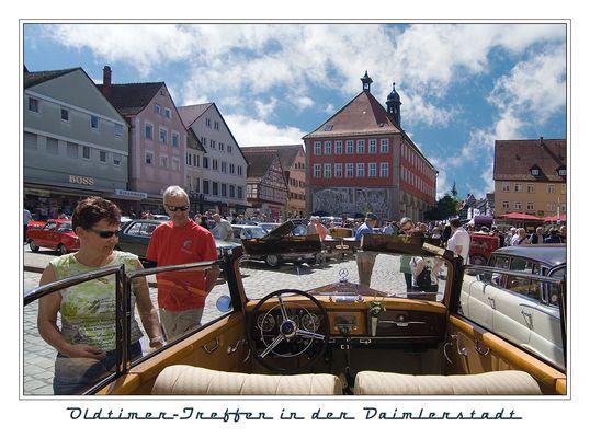 Oldtimer-Treffen in der Daimlerstadt Schorndorf