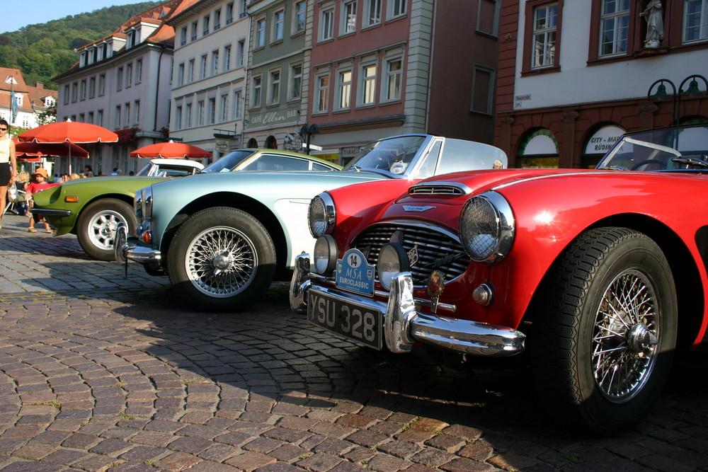 Oldtimer-Treffen in Heildelberg