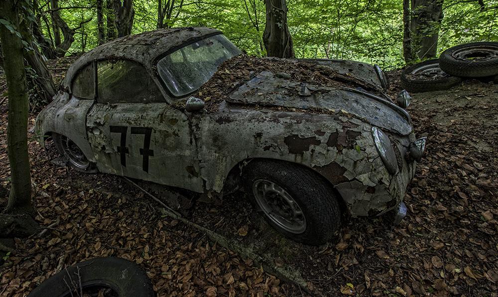 Oldtimerfriedhof - Porsche
