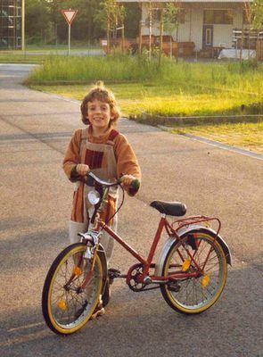 Ole kann jetzt Fahrrad fahren