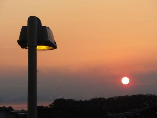 OLeggio all'alba