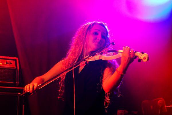 Olga mit der Geige ...