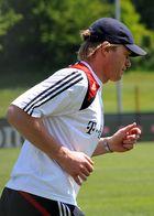 Oliver Kahn beim FC Bayern Training am 14.05.2008