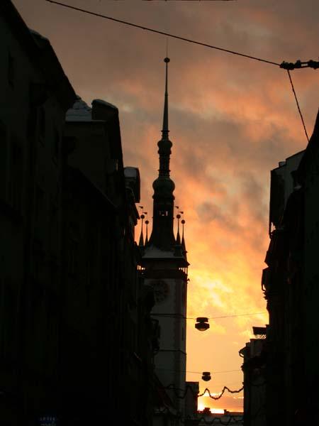 Olmützer Rathausturm