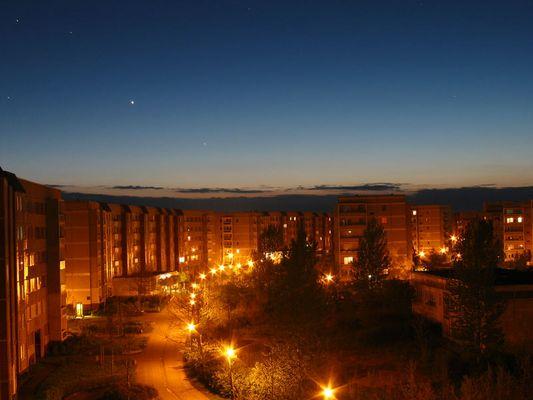 Olvenstedt bei Nacht