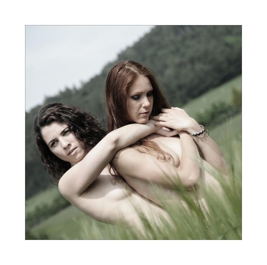 Olya und Sarah