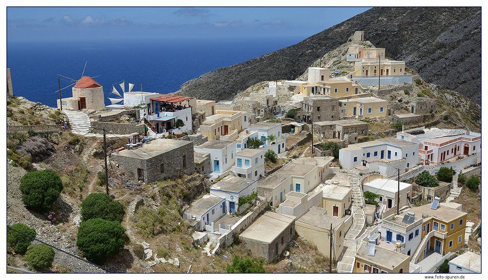 Olymbos, Blick auf das Mühlenviertel