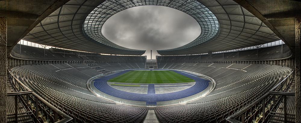 Olympia Stadion in Berlin Panorama
