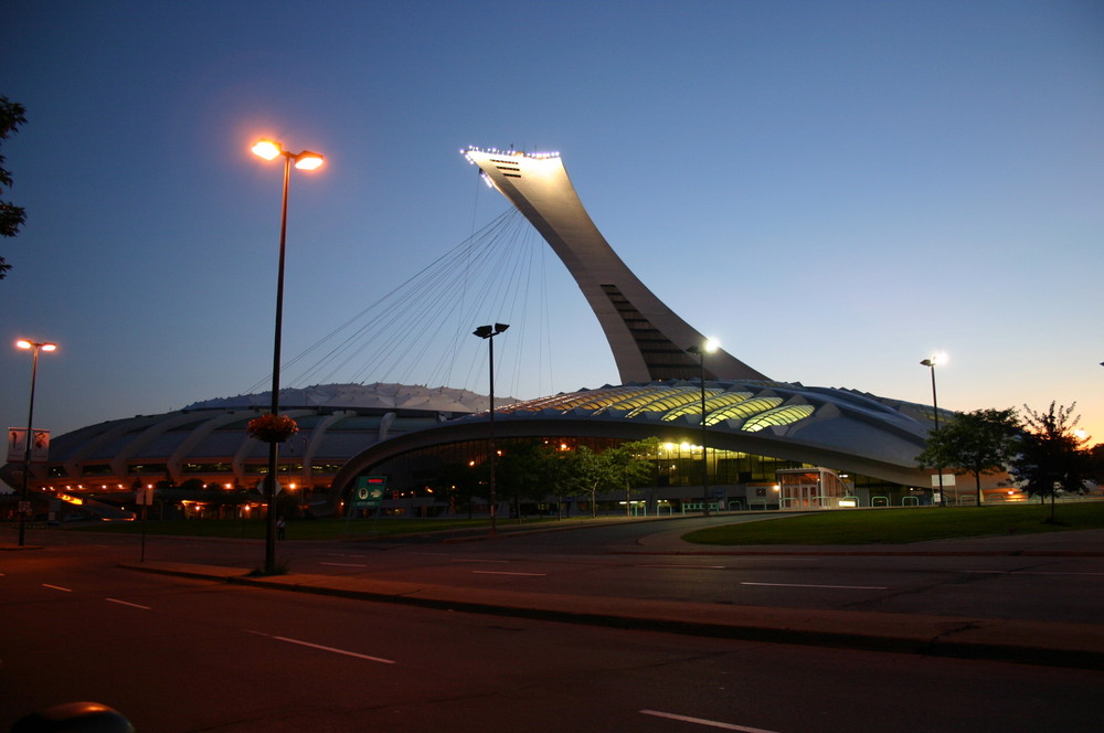 Olympia Stadion und Biodome in Montreal