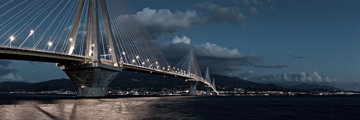 Olympiabrücke ...