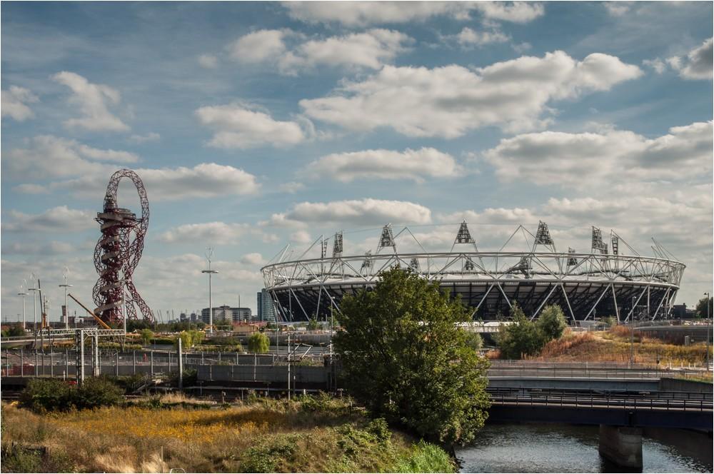 Olympiagelände in London ...