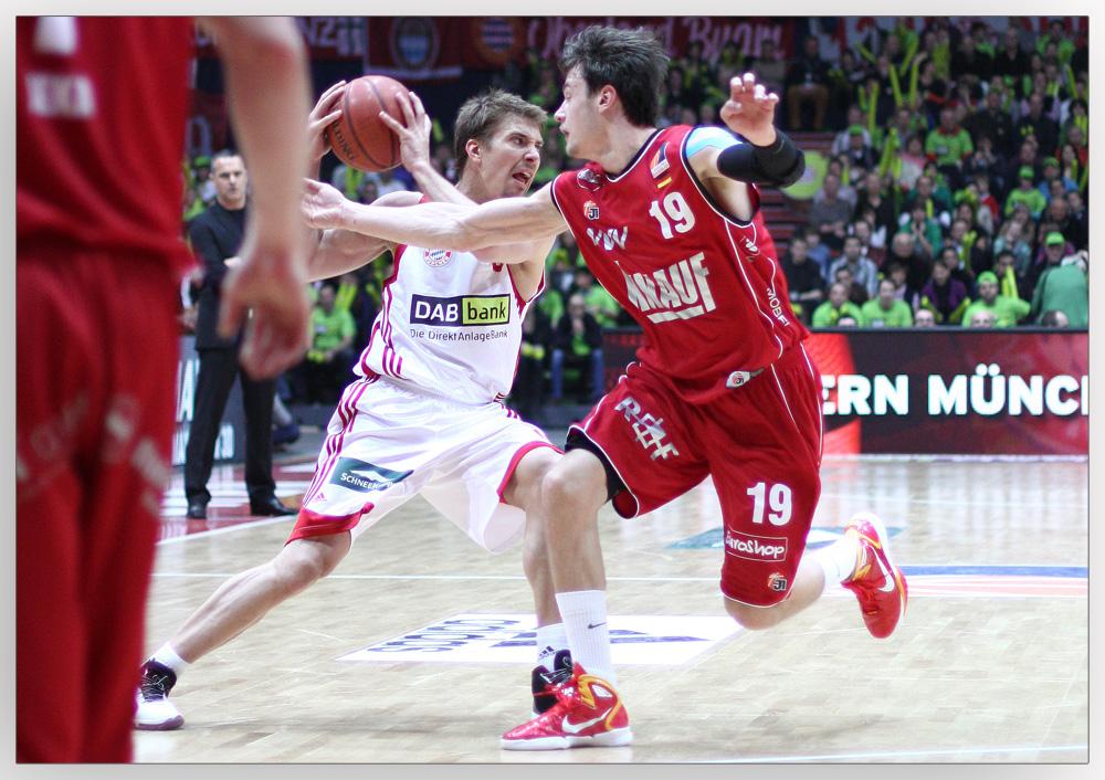 Olympiahalle München - Basketball vom Feinsten