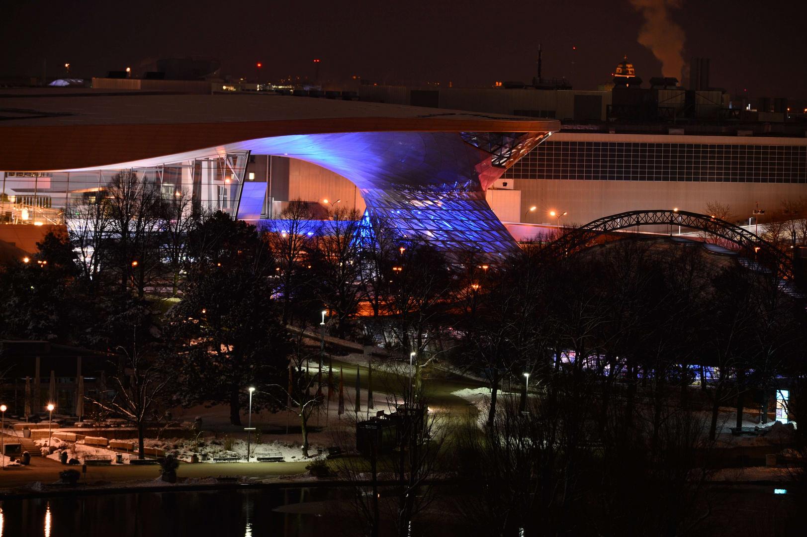 Olympiapark - BMW Auslieferung
