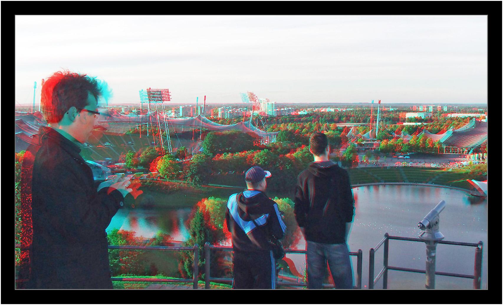 Olympiapark in 3D