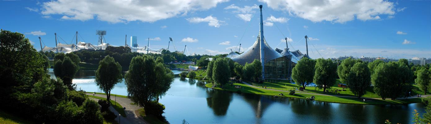 Olympiapark München - April 2009