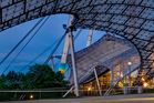 Olympiapark zur blauen Stunde