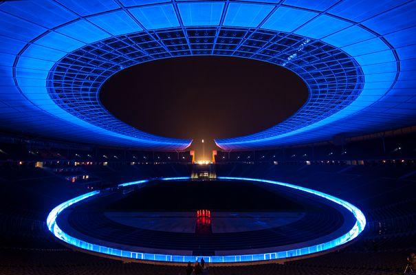 Olympiastadion @ Festival of Lights Berlin 2012