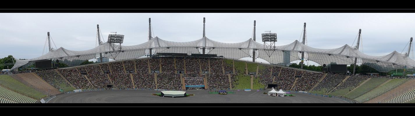 Olympiastadion München - Panorama