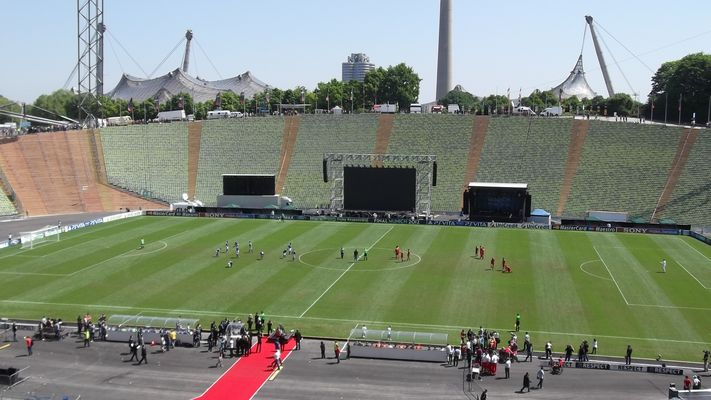 Olympiastadion München redivivus