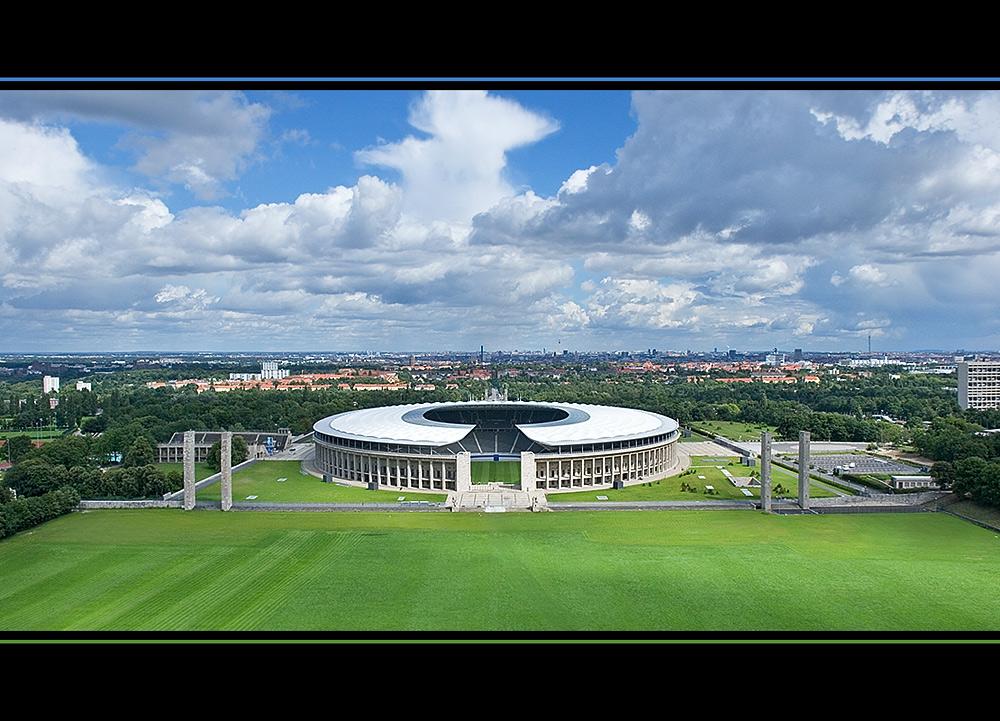Olympiastadion vom Glockenturm