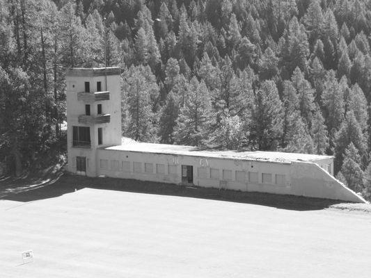 Olympiastadion von 1948 in St. Moritz