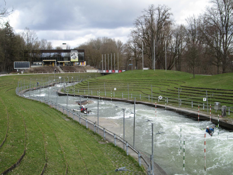 Olympiastrecke Augsburg Kanu