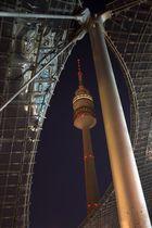 Olympiaturm aus Standardperspektive