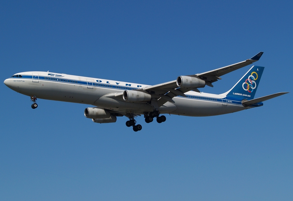 Olympic Airways Airbus A340-313X
